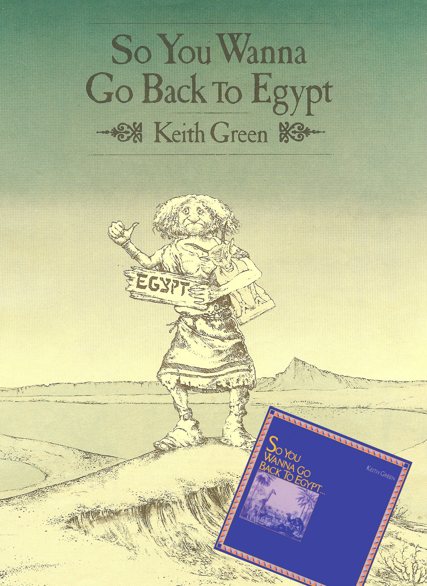 Back to Egypt with album art
